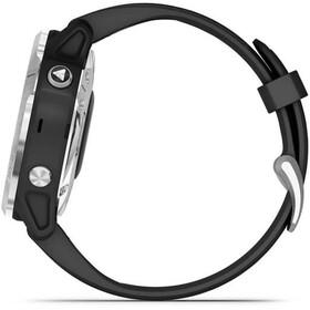 Garmin Fenix 6S Solar GPS Smartwatch, negro/Plateado